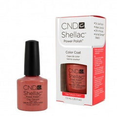 Gel Nails - CND Shellac Clay Canyon
