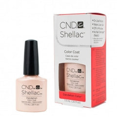 Gel Nails - CND Shellac Dandelion