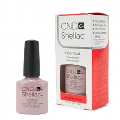 Gel Nails - CND Shellac Field Fox