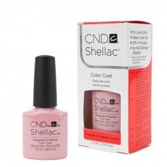 Gel Nails - CND Shellac Fragrant Freesia