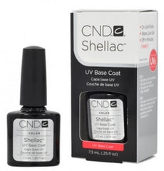 Gel Nails - CND Shellac Gel Polish BASE COAT - 0.25 Oz