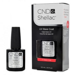 Gel Nails - CND Shellac Gel Polish BASE COAT - 0.42 Oz LARGE Size