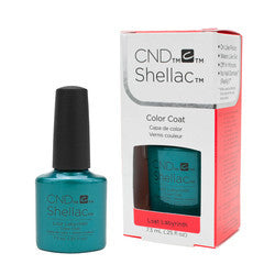 Gel Nails - CND Shellac Lost Labyrinth