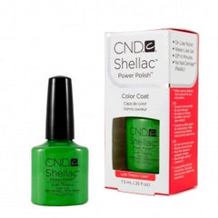 Gel Nails - CND Shellac Lush Tropics