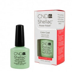 Gel Nails - CND Shellac Mint Convertible