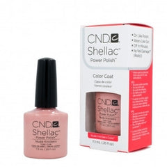 Gel Nails - CND Shellac Nuke Knicker