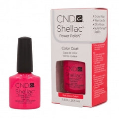 Gel Nails - CND Shellac Pink Bikini