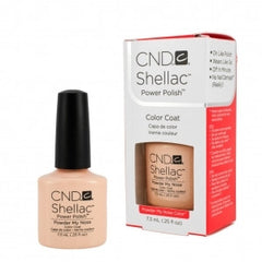 Gel Nails - CND Shellac Powder My Nose