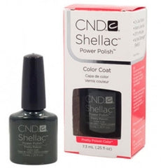 Gel Nails - CND Shellac Pretty Poison