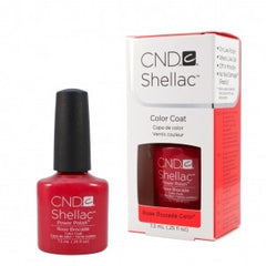 Gel Nails - CND Shellac Rose Rocade