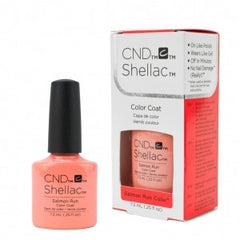 Gel Nails - CND Shellac Salmon Run