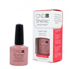 Gel Nails - CND Shellac Satin Pajamas