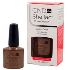 Gel Nails - CND Shellac Sugared Spice