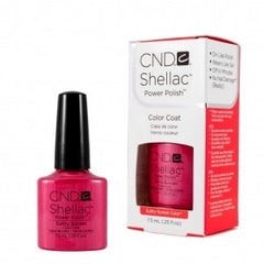 Gel Nails - CND Shellac Sultry Sunset