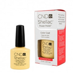 Gel Nails - CND Shellac Sun Bleached