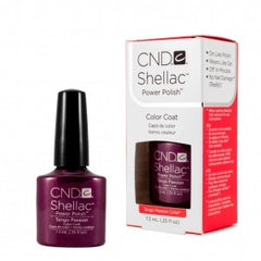Gel Nails - CND Shellac Tango Passion
