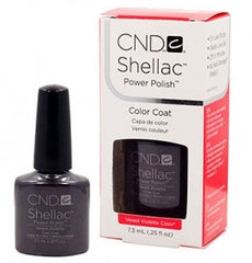 Gel Nails - CND Shellac Vexed Violette