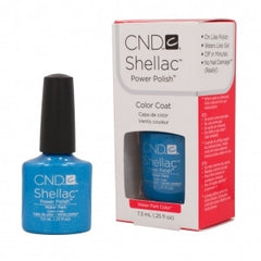 Gel Nails - CND Shellac Water Park