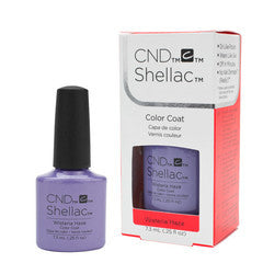 Gel Nails - CND Shellac Wisteria Haze