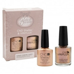 Gel Nails - CND Vinylux Duo Set Nail Polish Gilded Dreams Grand Gala