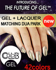 Gel Nails - COLOR CLUB GEL + LACQUER DUO PARK