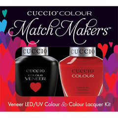 Gel Nails - Cuccio Colour Veneer - A Kiss In Paris