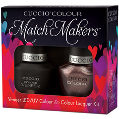 Gel Nails - Cuccio Colour Veneer - Coffee, Tea, Or Me!