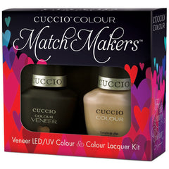 Gel Nails - Cuccio Colour Veneer - Java Va Voom!