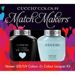 Gel Nails - Cuccio Colour Veneer - Nantucket Navy