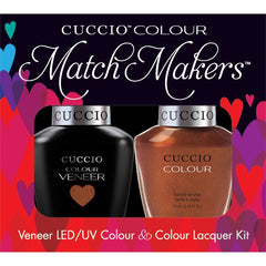 Gel Nails - Cuccio Colour Veneer - Never Can Say Mumbai