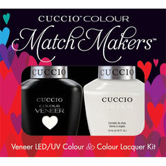 Gel Nails - Cuccio Colour Veneer - Verona Lace