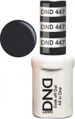 Gel Nails - DND - Black Licorice