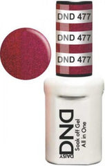 Gel Nails - DND - Red Stone