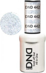 Gel Nails - DND - Silver Star