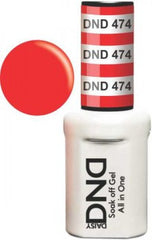 Gel Nails - DND - Striking Red