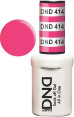 Gel Nails - DND - Summer Hot Pink