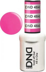 Gel Nails - DND - Sun Of Pink