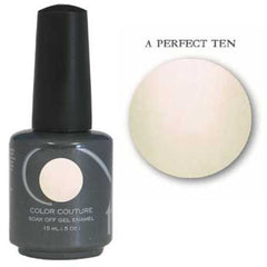 Gel Nails - Entity One Couture Soak Off Gel - A Perfect Ten .5oz