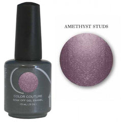 Gel Nails - Entity One Couture Soak Off Gel - Amethyst Studs .5oz