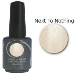 Gel Nails - Entity One Couture Soak Off Gel - Next To Nothing .5oz