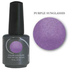 Gel Nails - Entity One Couture Soak Off Gel - Purple Sunglasses .5oz
