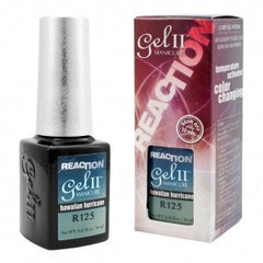 Gel Nails - GEL II Reaction Color Changing Nail Polish Hawaiian Hurricaine