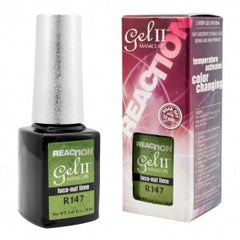 Gel Nails - GEL II REMIX Reaction Color Change Nail Polish Loco-Nut Lime