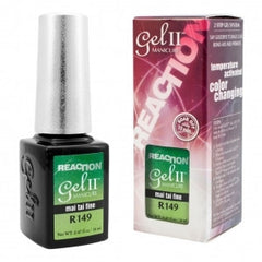 Gel Nails - GEL II REMIX Reaction Color Change Nail Polish Mai Tai Fine