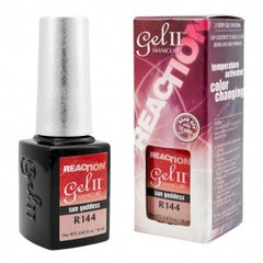 Gel Nails - GEL II REMIX Reaction Color Changing Nail Polish Sun Goddess