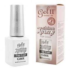 Gel Nails - GEL II Shine Xtreme Top Coat