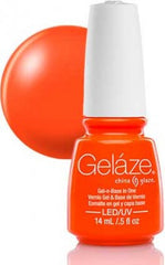 Gel Nails - Gelaze - Orange Knockout