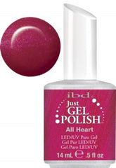 Gel Nails - Just Gel Polish - All Heart