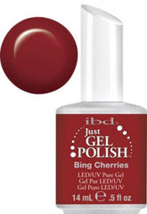 Gel Nails - Just Gel Polish - Bing Cherries