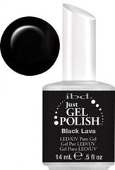 Gel Nails - Just Gel Polish - Black Lava